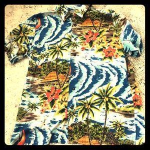 Awesome Vintage Style Hawaiian Shirt